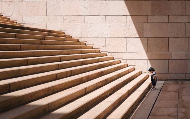 Schritt für Schritt zu mehr Selbstbewusstsein
